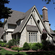 Traditional Exterior by Battaglia Homes