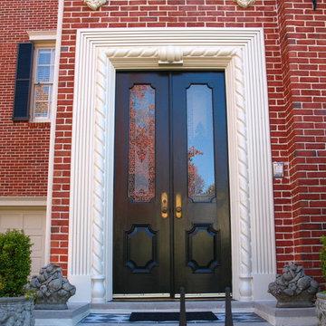 Enlarged Entry Door View