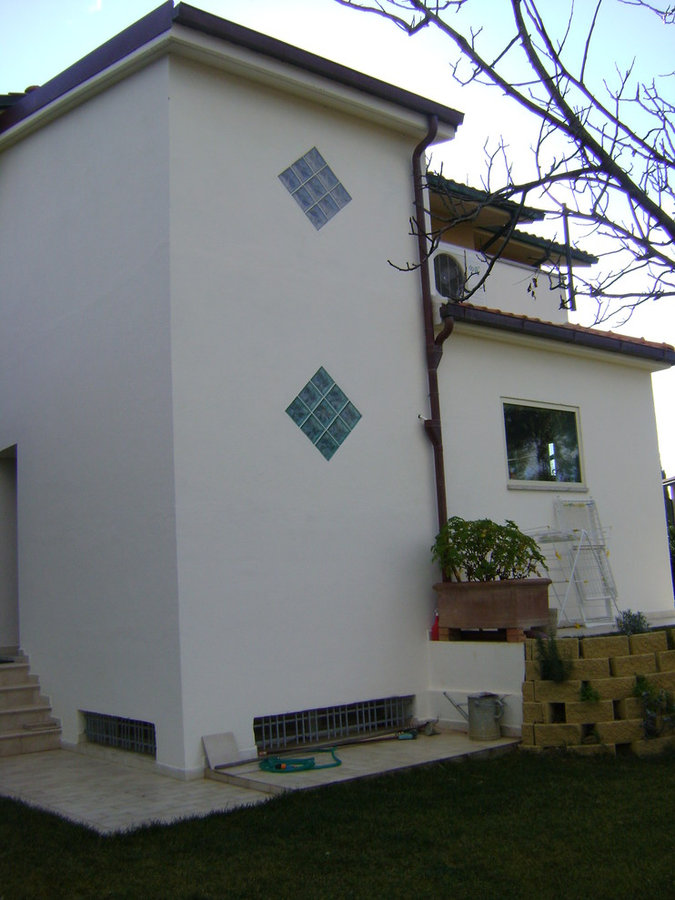 Enlargement of villa
