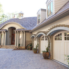 Traditional Exterior by Three River Stone