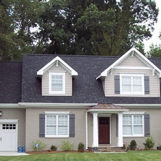 Traditional Exterior by Kolby Construction Company