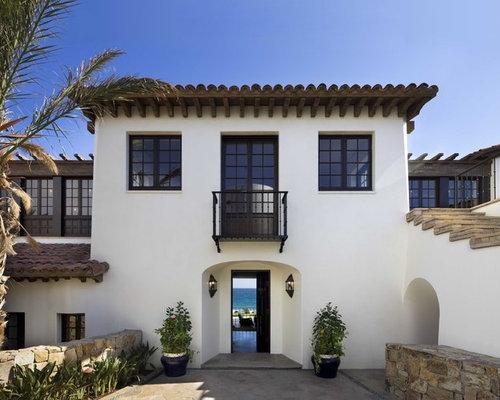 5,000 Mediterranean Stucco Exterior Design Ideas & Remodel