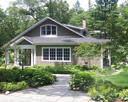 Paint color exterior warm gray exterior design ideas renovations photos - Warm grey exterior paint colors set ...