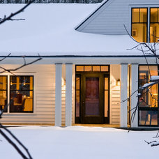 Farmhouse Exterior by Whitten Architects