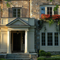 traditional exterior by Stephen Fuller Designs