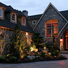 Traditional Exterior by All Oregon Landscaping