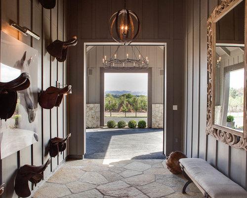 Ideas para fachadas dise os de fachadas de estilo de for Piani di casa cottage con porte cochere