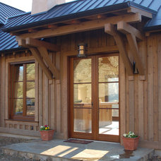 Traditional Exterior by McCoppin Studios