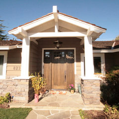 traditional exterior by Nunley Custom Homes