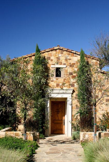 Mediterranean Exterior by Pacific Stone Design Inc