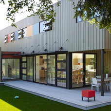 Modern Exterior by Sharon Portnoy Design