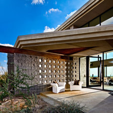 Contemporary Exterior by Palm Design Group