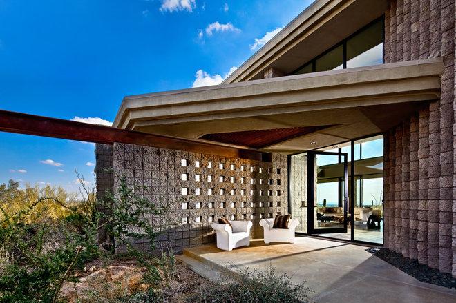 Contemporary Exterior by Palm Design Group