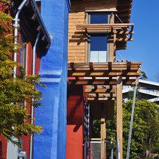 Contemporary Exterior by Cameron C. Habel Construction, Inc.