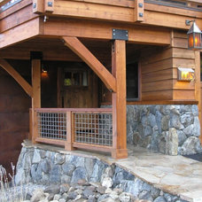 Traditional Exterior by Wood Ridge Construction