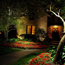 Mediterranean Exterior by Lite4 Outdoor Lighting