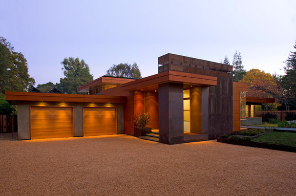 Contemporary Exterior by William Duff Architects, Inc.