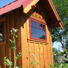 Rustic Exterior by Tumbleweed Tiny House Company