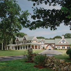 Traditional Exterior by Ronald F. DiMauro Architects, Inc.