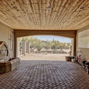 Inspiration for an exterior home remodel in Phoenix