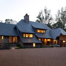 Traditional Exterior by Kate Jackson Design