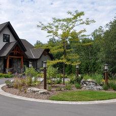 Traditional Exterior by Earthscape - Landscape Design & Build