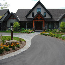 Traditional Exterior by Earthscape - Landscape Design & Build