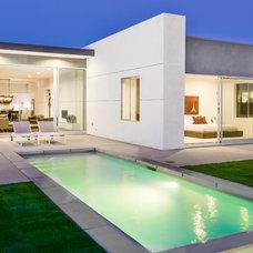 Modern Exterior by Interior Illusions -The Design Studio