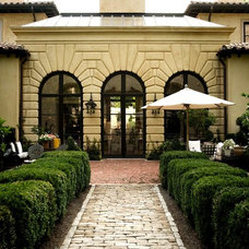 Mediterranean Exterior by PAGE | DUKE Landscape Architects
