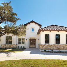 Mediterranean Exterior by Adam Wilson Custom Homes