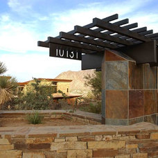 Mediterranean Exterior by Sever Design Group Architects, Inc