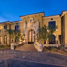 Mediterranean Exterior by Dale Gardon Design