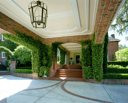 Carport With Brick Home Design Ideas Pictures Remodel And Decor