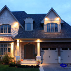 Traditional Exterior by Galle Construction Inc