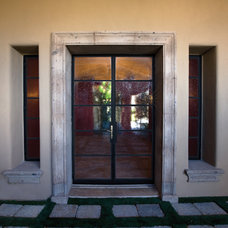 Exterior by Colletti Design Iron Doors