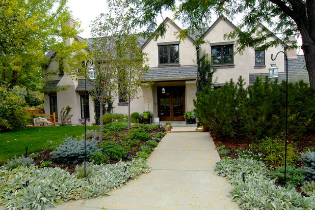 Traditional Exterior by Brenda Olde