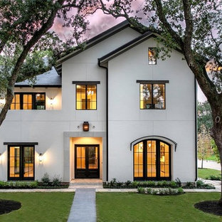 European Inspired Transitional Home