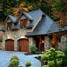 Traditional Exterior by Mark Sinsky Architect, PA