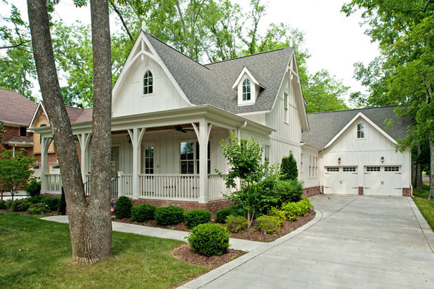 Traditional Exterior by P. Shea Design