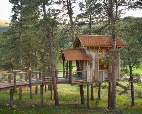 Adult treehouse home design ideas pictures remodel and decor for Adult treehouse plans