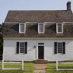 Ewing House Colonial Williamsburg Farmhouse Living