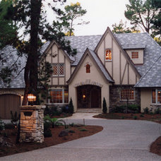 Traditional Exterior by Rick Steres, Architect