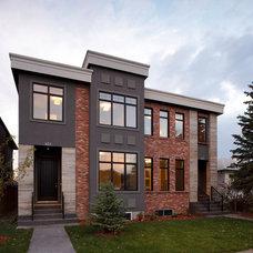 Modern Exterior by Stephens Fine Homes Ltd