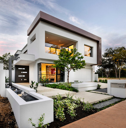 Contemporary Exterior by Webb and Brown-Neaves