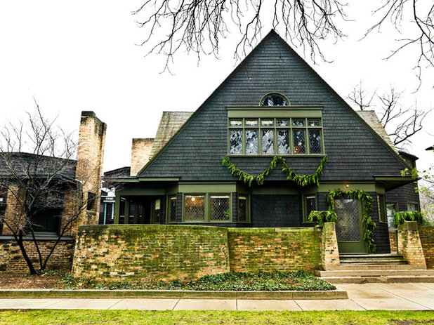 Traditional Exterior Experience the Holidays at Frank Lloyd Wright's Home and Studio