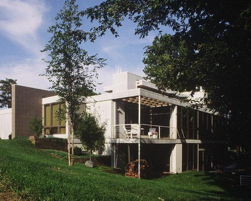 10k split level home design ideas photos houzz for Piani di split house