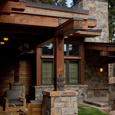 Traditional Exterior by Ryan Group Architects