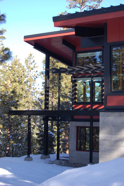 Contemporary Exterior by Ryan Group Architects