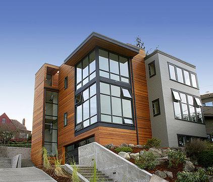Modern Exterior by Logan's Hammer Building & Renovation
