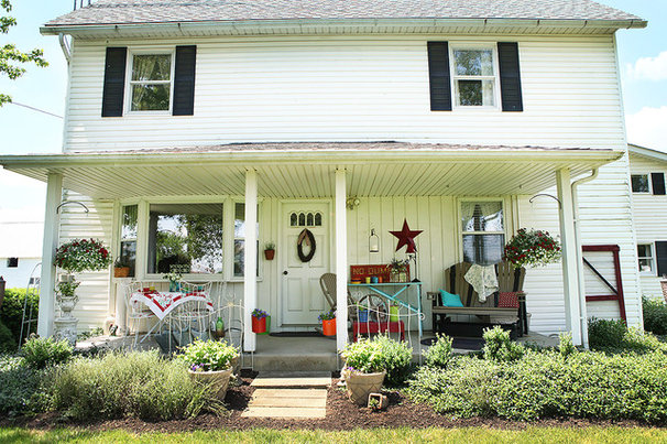 Farmhouse Exterior by Julie Ranee Photography